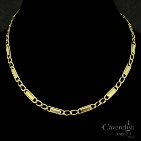9ct Yellow Gold Link Necklace