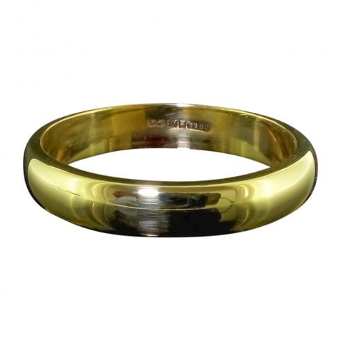 9ct Yellow Gold Wedding Band Ring