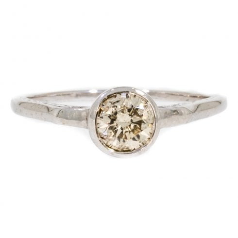 Antique Art Deco Diamond Solitaire Ring