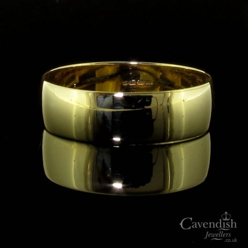 Appealing 9ct Gold Wedding Band