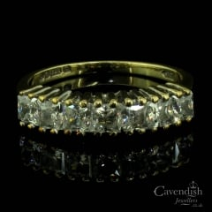Captivating 9ct Cubic Zirconia Ring