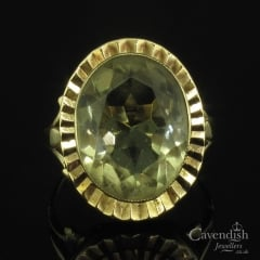 Captivating 9ct Gold & Citrine Ring