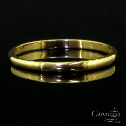 Classic 22ct Gold Fidelity Wedding Band Ring from Cavendish