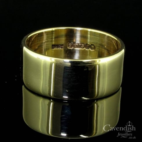 Classic 9ct Gold 8mm Wedding Band Ring