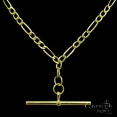 Classic 9ct Gold Figaro Link Necklace
