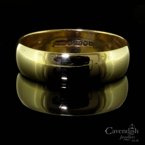 Classic 9ct Gold Wedding Band