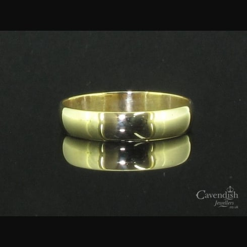 Classic 9ct Gold Wedding Ring