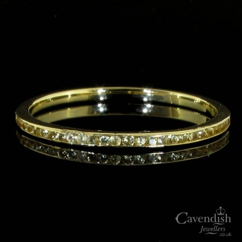 Dainty Diamond Eternity Ring