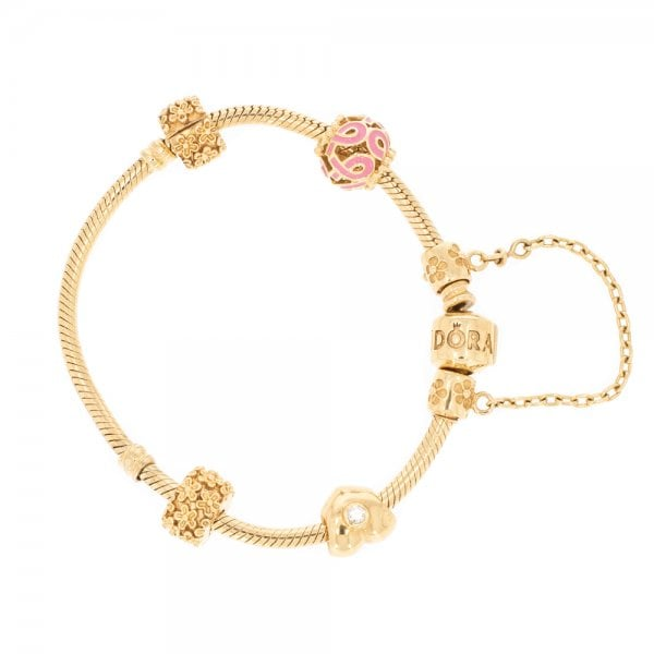 Diamond Set Pandora Bracelet Bracelets From Cavendish Jewellers Ltd Uk