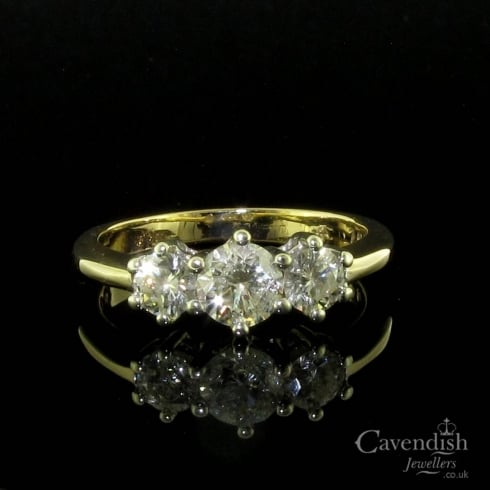 Enchanting Diamond Trilogy Ring
