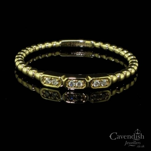 Eye-catching 9ct Gold Diamond Ring