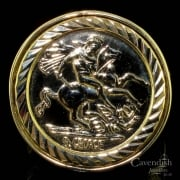Gents 9ct Gold St. George Ring
