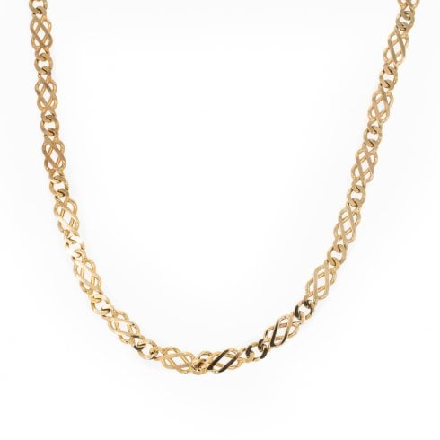 Gold Fancy Link Chain