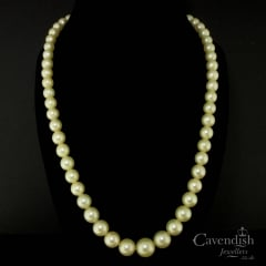 Heavenly Cultured Pearl Necklace