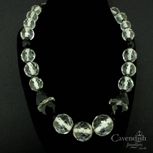 b17bdecb7 Impressive Crystal And French Jet Necklace - from Cavendish Jewellers Ltd UK