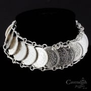 Interesting Dutch 10 Cent Coin Bracelet
