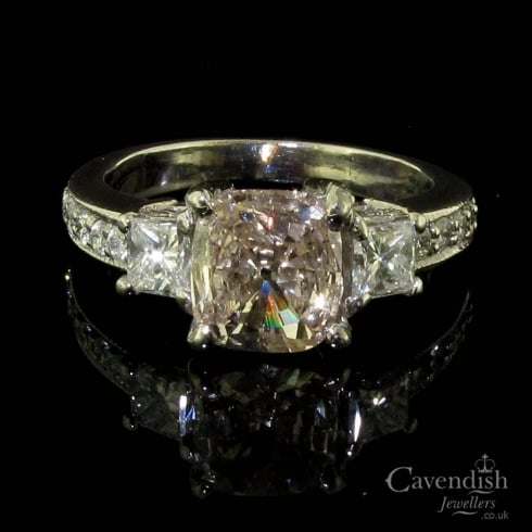 Magnificent Diamond Trilogy Ring