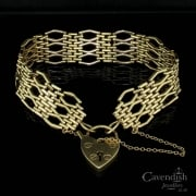 Outstanding Gold Gate Bracelet