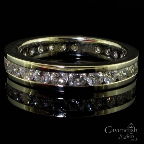 Platinum & Diamond Full Eternity Ring