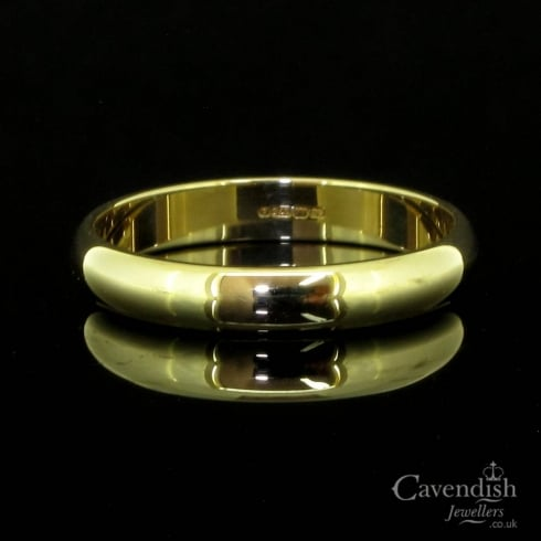 Pleasing 9ct Gold Wedding Band