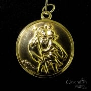 Pleasing St. Christopher Fob Pendant