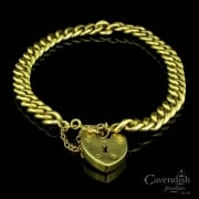 Tempting 9ct Gold Curb Link Bracelet