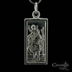 Unusual Silver St. Christopher