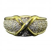 Vintage 9ct Gold Diamond Ring