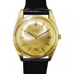 Vintage 9ct Gold Rotary Automatic Watch