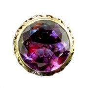 Vintage Synthetic Alexandrite Dress Ring