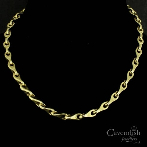 Wonderful Solid 9ct Yellow Gold Necklace